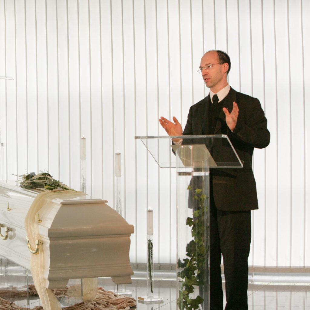 Ronald de Schutter Trauerredner Kaiserslautern