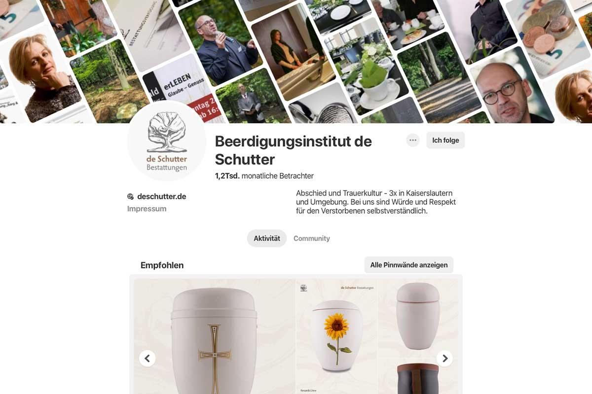 Permalink to:Beerdigungsinstitut de Schutter bei Pinterest