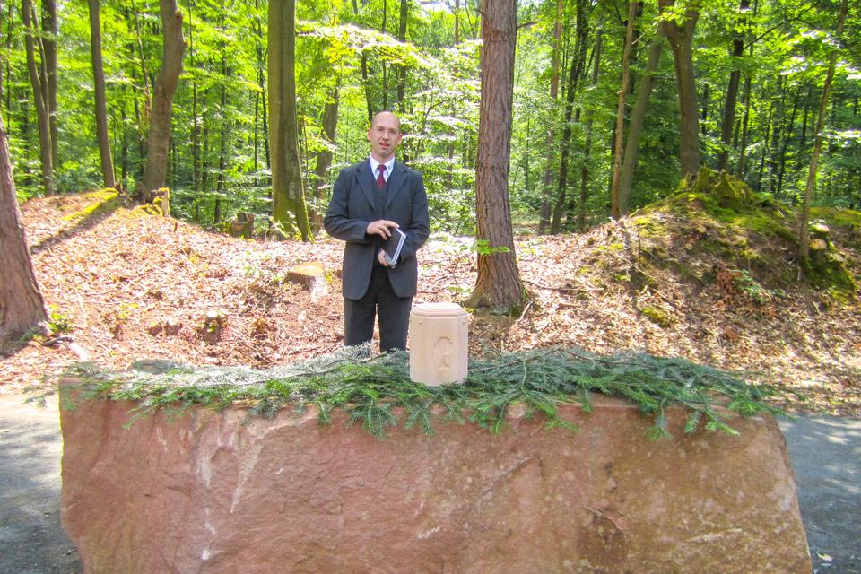 Permalink to:Die letzte Ruhestätte in einem Bestattungswald