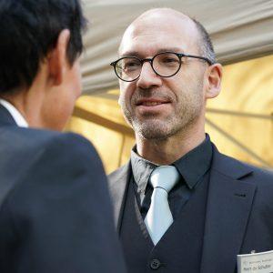 Ronald de Schutter im Gespräch